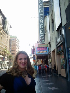 Outside the Pantages